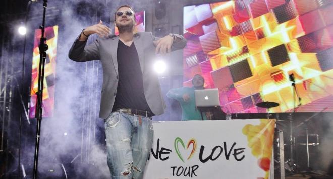 Снимка: Слаткаристика празнува рождения си ден на One Love Tour в Струмица