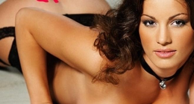 Жената на Ваня Джаферович като еротичен модел (СНИМКИ)