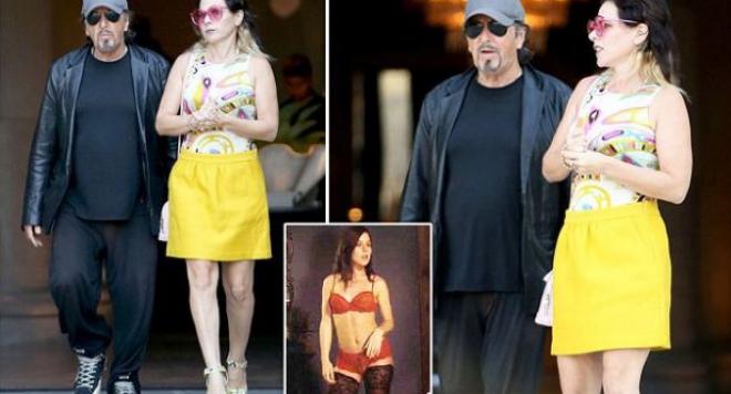 Ал Пачино се похвали с новото си гадже, 40-години по-млада от него актриса