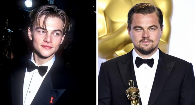 15 звезди и първите им стъпки по червения килим на Оскарите (Снимки преди и сега)