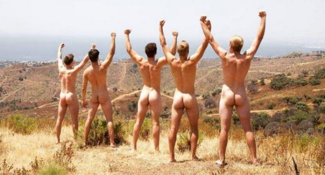 Гребци лъснаха голи и запалиха женските фантазии (снимки)