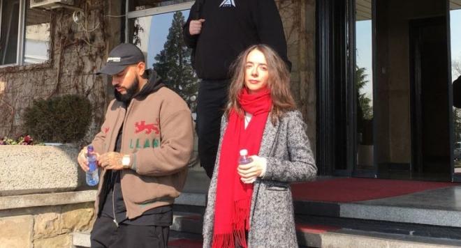 Руската мегазвезда Тимати кацна в София