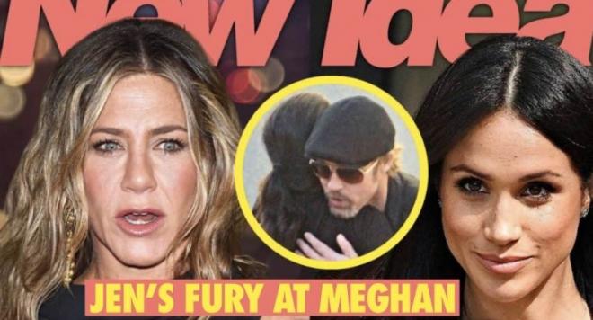 Дженифър Анистън скочи на Меган Маркъл: Долу ръцете от мъжа ми!