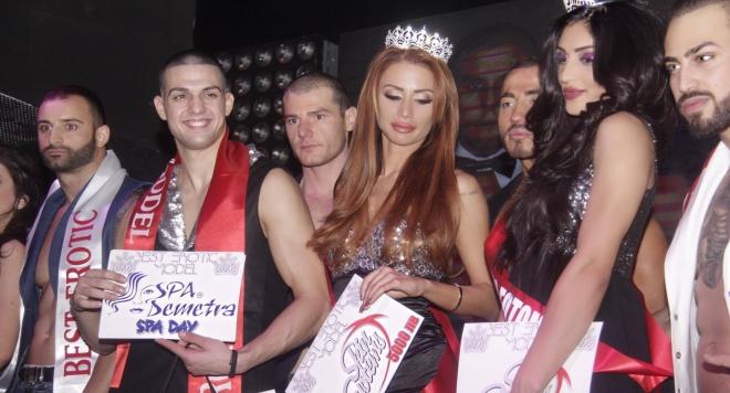 Неделина Цанева спечели Best Erotic Model 2017