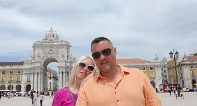 Снимка: Кристина Димитрова чукна 59 с младото си гадже в Лисабон