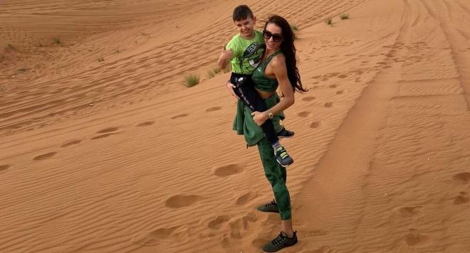 Цвети Разложка отбелязва 7-мия рожден ден на сина си в Дубай