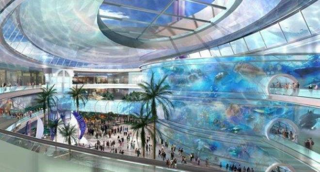 """""""Вътрешният океан"""" на Дубай се пропука"""