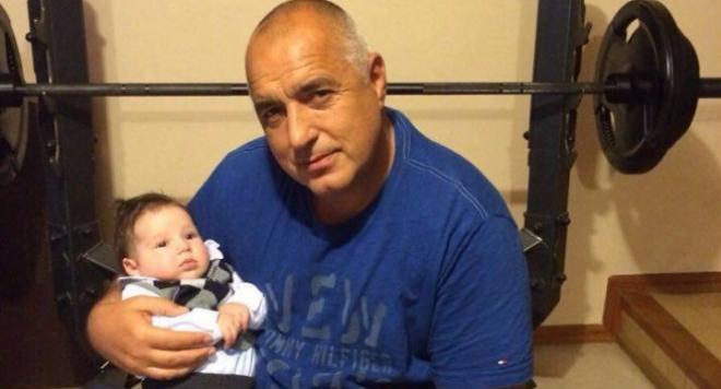 Бойко става дядо за втори път