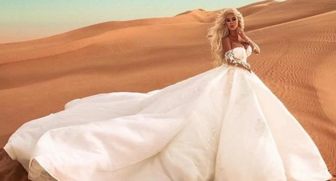 Андреа се омъжи за себе си