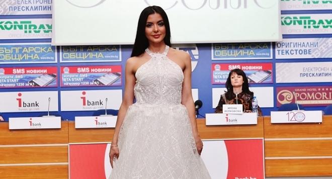 Мисис България  д-р Полина Паньова стана лице на Estrella Couture (Снимки)