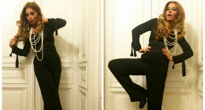 Eсил Дюран грейна в нова модна фотосесия