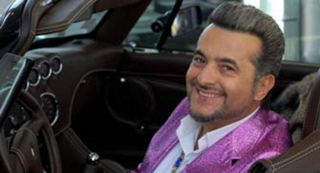 Евгени Минчев на гей Оскари