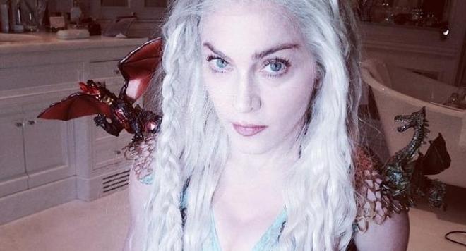 Мадона се преобрази като Денерис Таргариен /снимки/