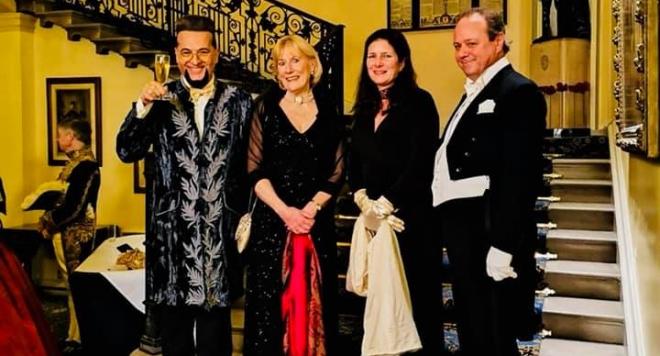 Лорд Евгени Минчев - почетен гост на Имперския бал в Лондон (Снимки)