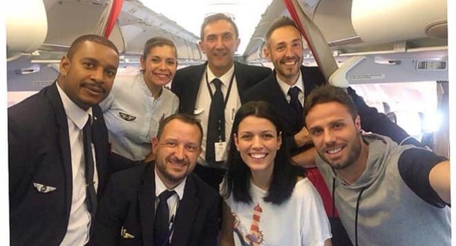 Д-р Огнянова подкара самолет на път за Доминикиана
