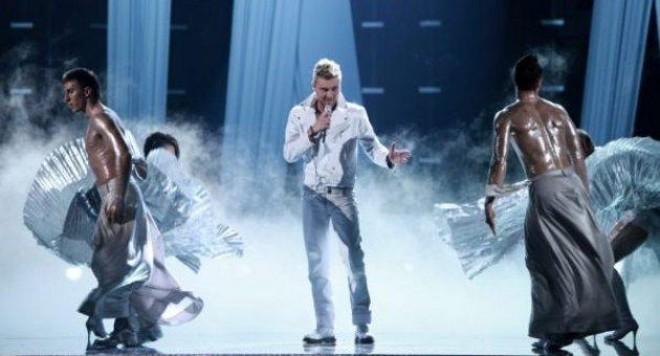 Миро се явил на Евровизия надрусан