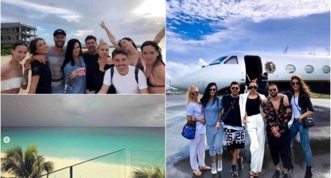Цеци Красимирова и Мариан Кюрпанов се събраха отново, вършеят Карибите с частен самолет