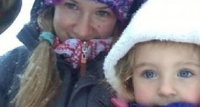 Лора Караджова запозна новия с дъщеря си