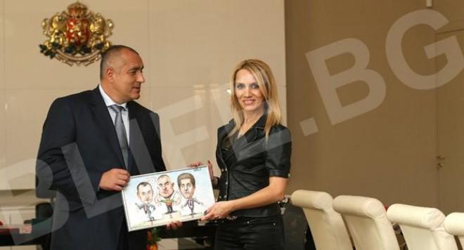 Бойко Борисов прие наградата за най-красив БГ политик