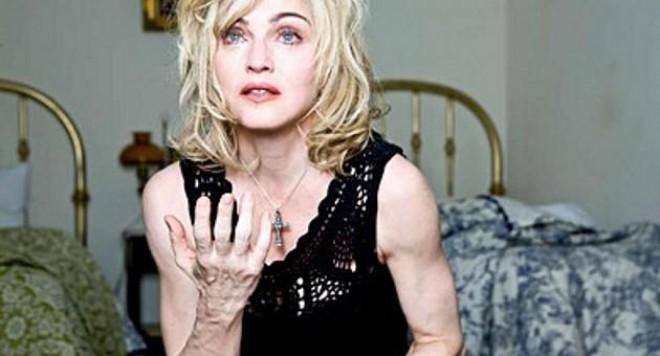 Мадона ядосана заради свои снимки без