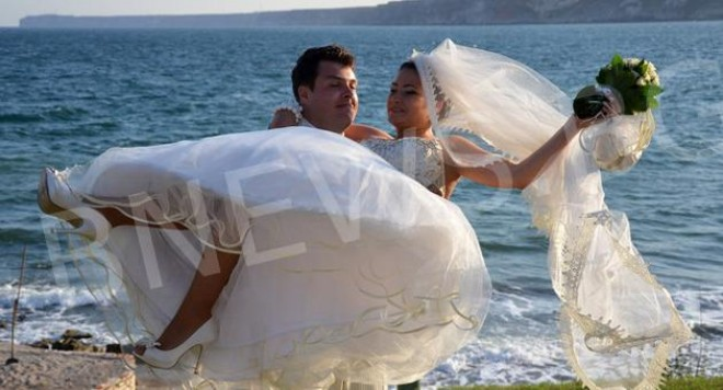 Баневи вдигнаха сватба като в приказките /снимки/