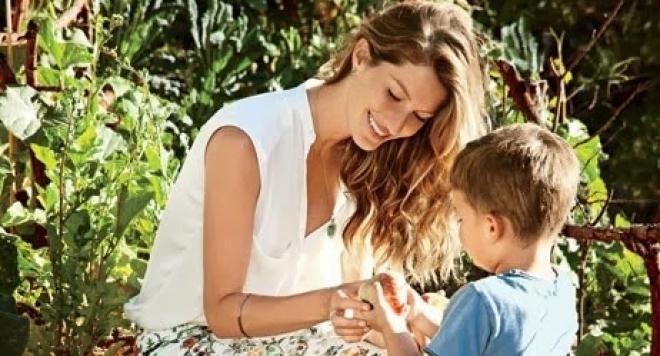 Жизел Бюндхен: Да съм майка е вдъхновяващо!