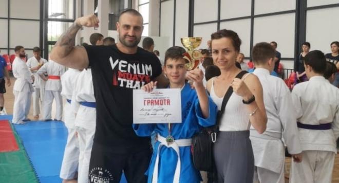 11-годишният мъж пребори конкуренцията от 80 състезатели, които участваха в