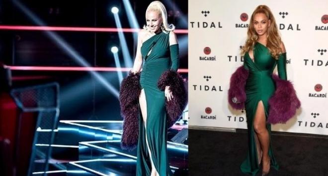 Камелия открадна роклята на Бионсе