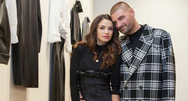 Диляна Попова в нов моден проект на дизайнера Росен Георгиев