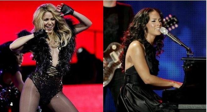 Шакира и Алиша Кийс откриват Световното по футбол