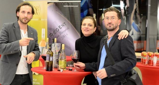 Редки сортове Дорнфелдер и Регент на New Bloom Winery за премиерите на филма Дъвка за балончета