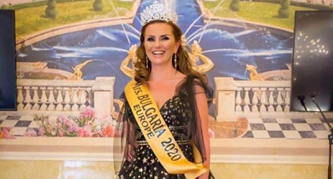 Мариета Захариева: Короната на Мисис България е възможност да бъда полезна на хората