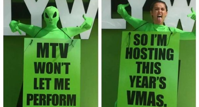Майли Сайръс ще води видеонаградите на MTV