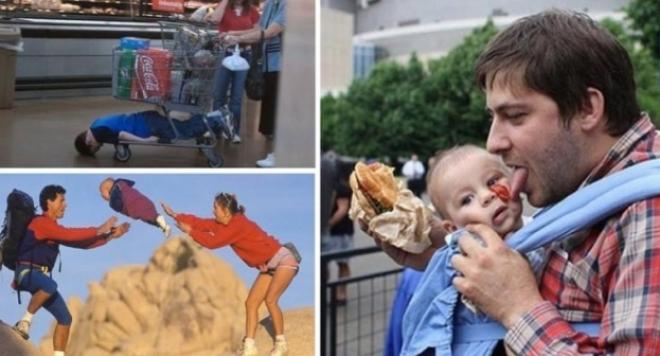 Някои родители са 100% идиоти (ШОК СНИМКИ)