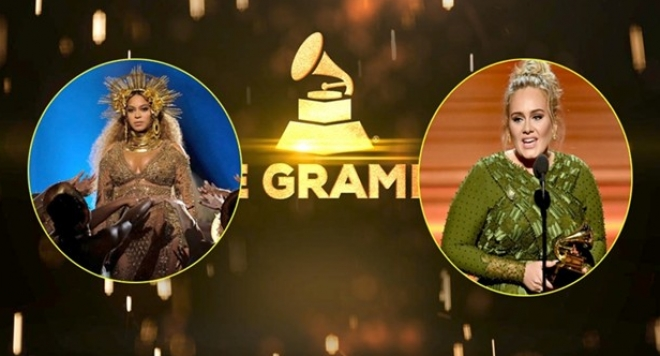 "На 59-ите музикални награди \""Грами\"" Адел победи Бионсе, в трите основни категории"