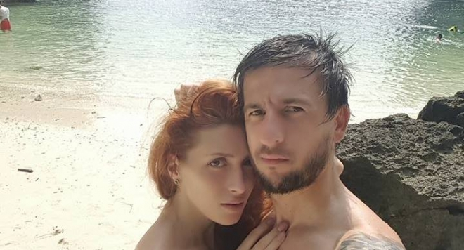 Ромина и Дарко на почивка в Рая (снимки)