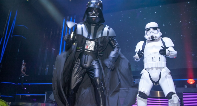 Star Wars Show в  Bedroom Premium Club