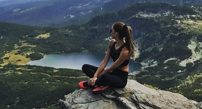 Ивайла Бакалова теши любовна мъка със спорт
