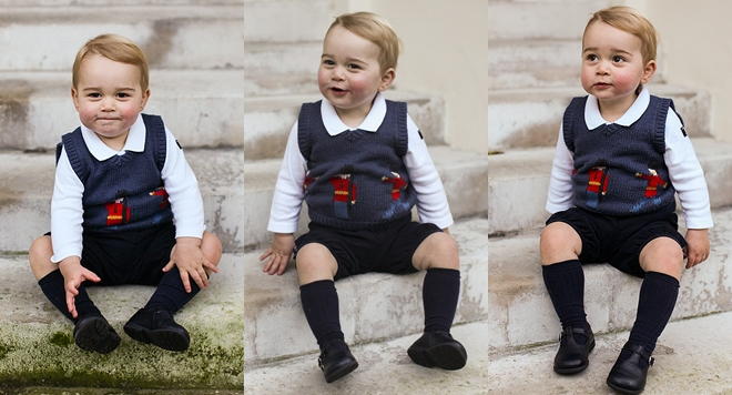 Принц Джордж сатана на 2 годинки