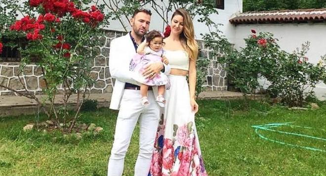 Наско Месечков и Кремена кръстиха дъщеря си