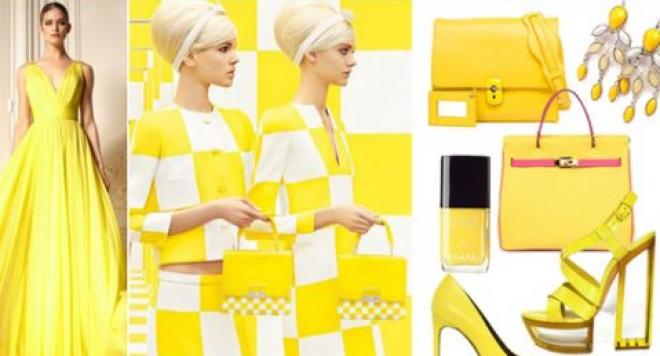 Жълтият цвят ще е хит за лятото