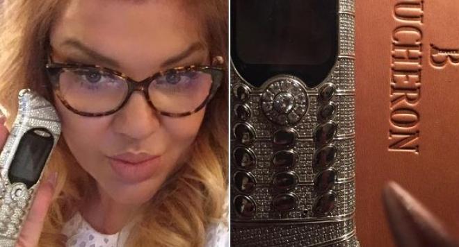 Ваня Червенкова се похвали с най-скъпия телефон в света