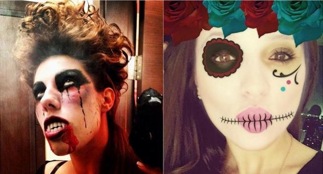 Само в BLife: Вижте как родните звездите посрещнаха Хелоуин /атрактивни снимки/