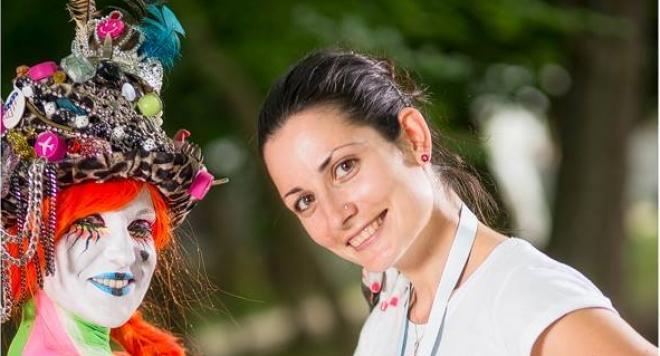 Мишел Вълчева покори Световно първенство по бодиарт