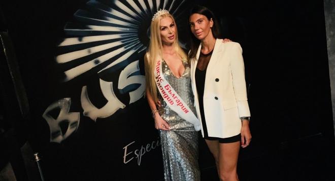 Мира Стоянова е първата носителка на титлата  Мисис  България - Пловдив