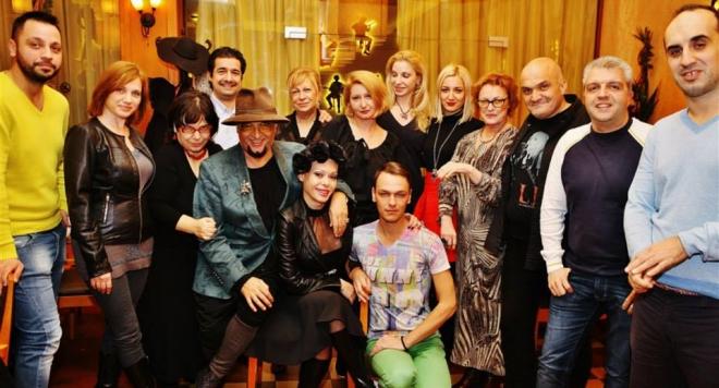 Вижте снимки от медийното парти на Евгени Минчев