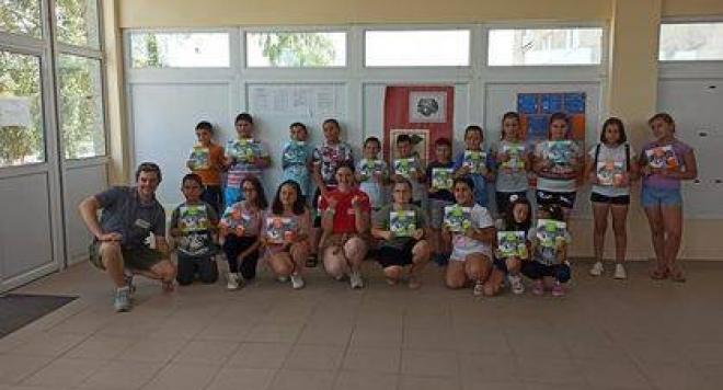 530 деца от различни населени места се обединиха за опазването на природата