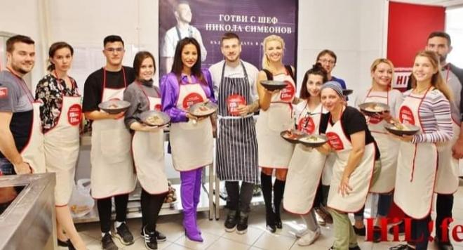 Шеф Никола от Хелс Китчън устрои звездна кулинарна битка
