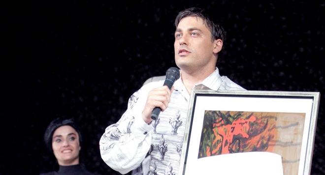 Владо Карамазов с престижно отличие