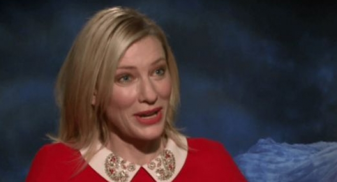 Кейт Бланшет псува в ефир (видео)